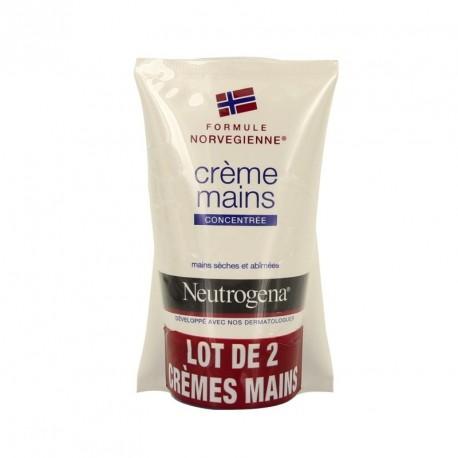 Neutrogena duo crème mains 2 x 50 ml