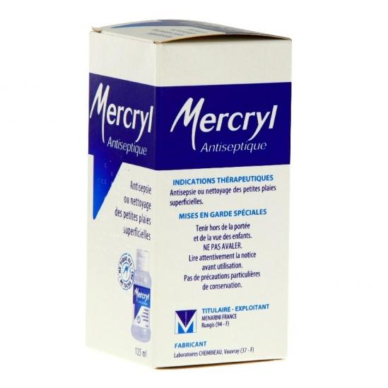 Mercryl application cutanée 125 ml