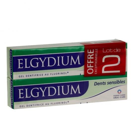 Elgydium Dentifrice Dents Sensibles duo 75ml
