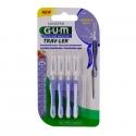Gum trav-ler 4 brossettes interdentaires 0.6mm