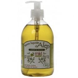Mkl savon d'alep liquide bio 500ml