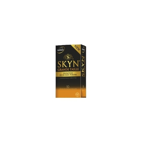 Manix skyn grande taille 10 préservatifs