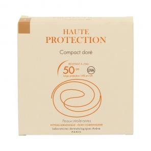 Avène solaire poudre compact protection teintée dorée spf 50+ 10g