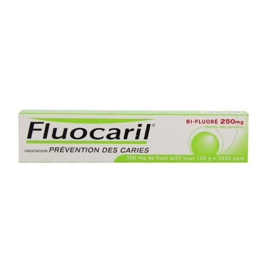 Fluocaril Bifluore 250mg Menthe pâte dentifrice 93,75g