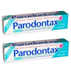 Paradontax gel crème dentifrice duo 75ml
