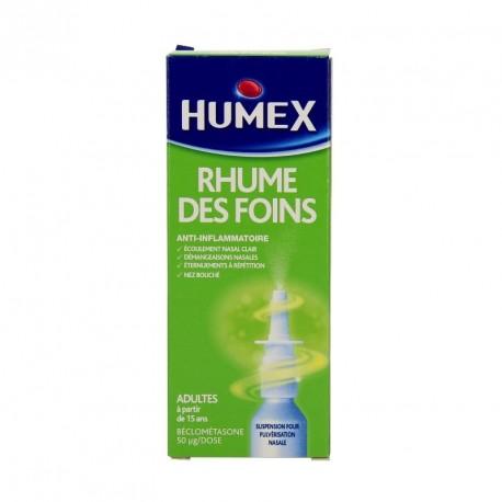 Humex rhume des foins 1 flacon pulvérisateur de 100 doses