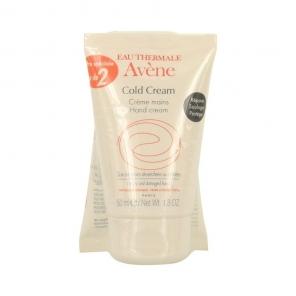 Avène cold cream crème pour les mains duo de 2x50ml
