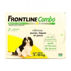 Merial Frontline Combo pour chien de 2 à 10kg 6 pipettes