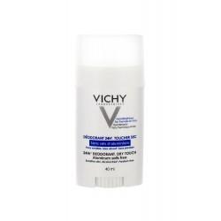 Vichy Déodorant 24H Sans Sels d'Aluminium Peaux Sensibles ou Epilées Stick 40ml