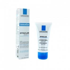 La Roche Posay effaclar duo crème 40ml + gel moussant 50ml offert