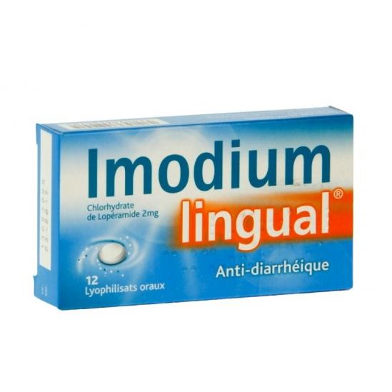 Imodiumlingual 2mg 10 lyophilisat oral