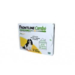 Mérial Frontline Combo Chien 2-10kg S 4 Pipettes