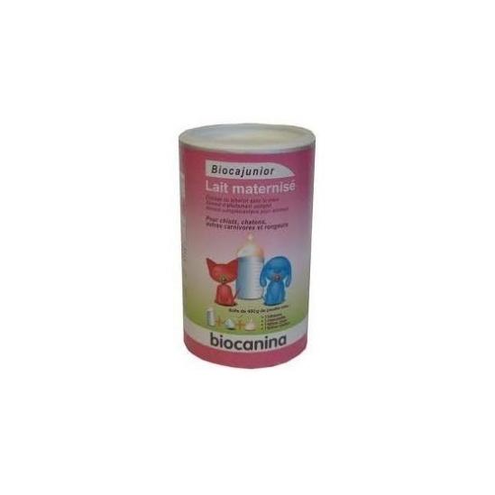 Biocanina lait maternisé en poudre pour chiens chats + biberon 400 g