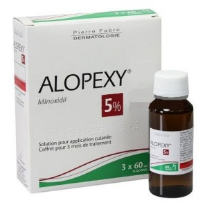Alopexy 5 % 3 flacons de 60ml