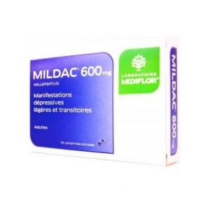 Mildac 600 mg 15 comprimés