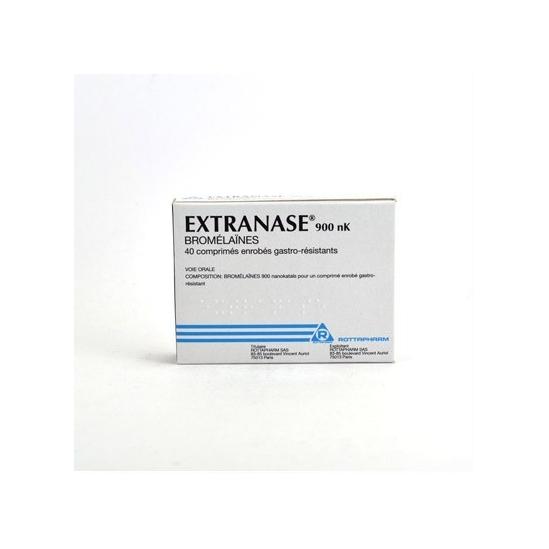 Extranase 900nK 40 comprimés