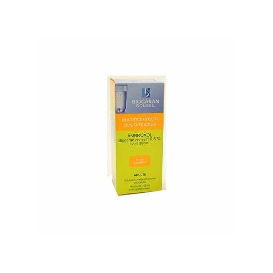 Ambroxol Biogaran 0,6% 100ml