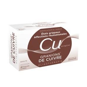 Granions de Cuivre 0.3 mg / 2 ml
