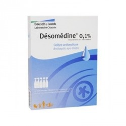 Desomedine 0,1% 10 collyres unidoses