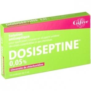 Gifrer Dosiseptine 0,05% 10 unidoses