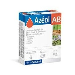 Pileje Azéol Ab Phytoprevent 30 capsules