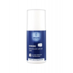 Weleda Déodorant Roll-on 24 H Homme 50 ml