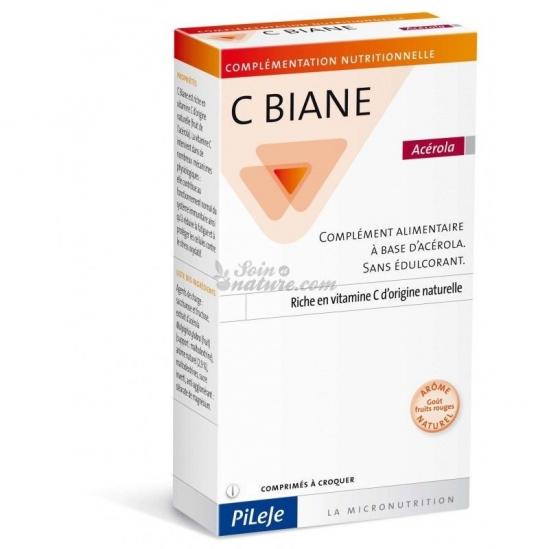Pileje C biane Acérola 60 comprimés