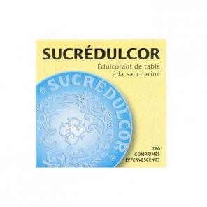 Sucredulcor edulcorant de table à la saccharine 260 comprimés