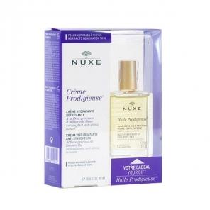 Nuxe Coffret Crème Prodigieuse Peaux Sèches 40ml et Huile Prodigieuse 30ml