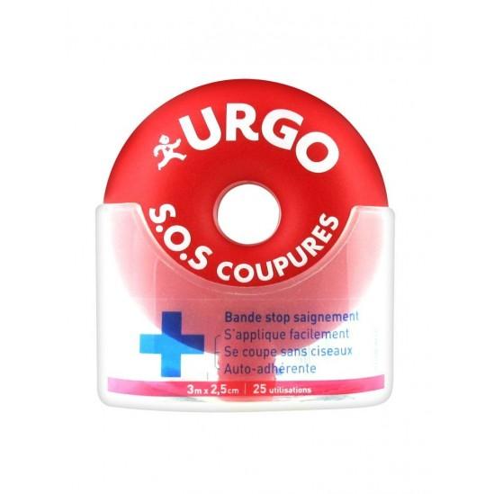Uurgo SOS Coupures Bandes 3m x 2,5cm