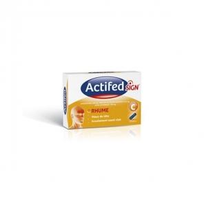 Actifed Sign boîte 20 gélules