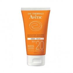 Avène Crème Solaire SPF20 Protection Modérée 50 ml