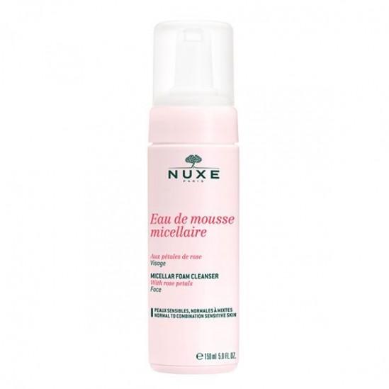 Nuxe eau de mousse micellaire visage 150ml