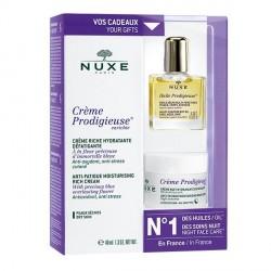 Nuxe Prodigieuse Crème Hydratante 40ml + Huile Prodigieuse 30ml OFFERTE