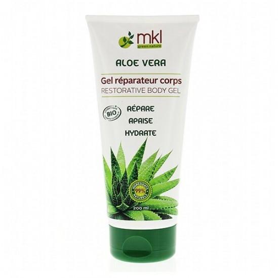 Mkl Gel Réparateur Corps Aloe Vera 99% Bio 200ml