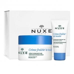 Nuxe coffret crème fraiche peaux normales + masque frais Offert