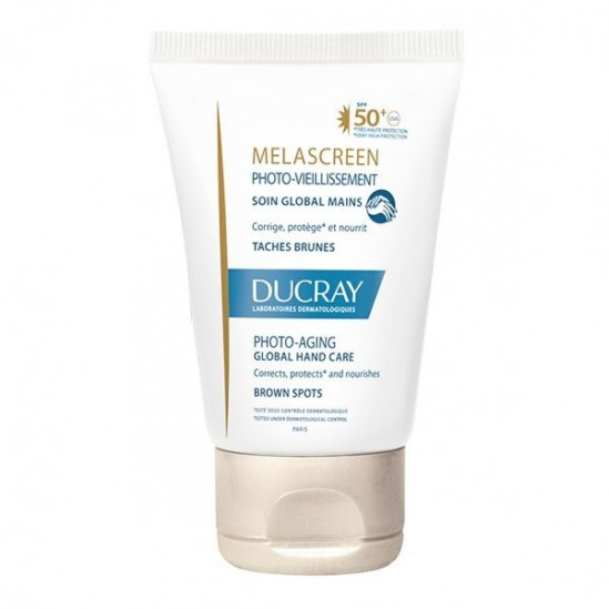 Ducray memascreen soin global mains 50+ 50ml