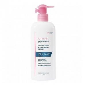 Ducray ictyane crème anti-desséchement corps 400ml