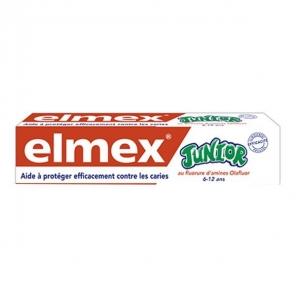 Elmex dentifirice anti-caries professionnel Junior 75ml