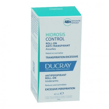 Ducray hidrosis control roll on aisselles 40ml