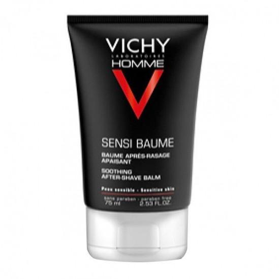 Vichy homme sensi-baume minéral après-rasage 75ml