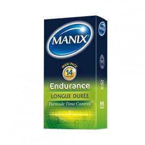 Manix Endurance longue durée Préservatif boites de 14