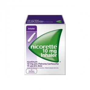 Nicorette inhaleur 10mg boite 42 cartouches