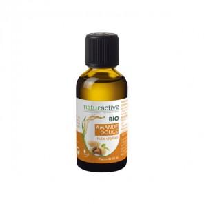 Naturactive amande douce huile végétale bio flacon 50ml