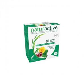 Naturactive détox stick fluide complément alimentaire 15 sachets