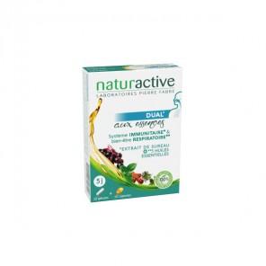 Naturactive dual aux essences sureau + huiles essentielles 10 gélules+ 10 capsules