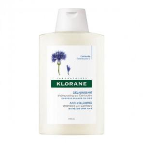 Klorane shampooing déjaunissant à la centaurée 200ml