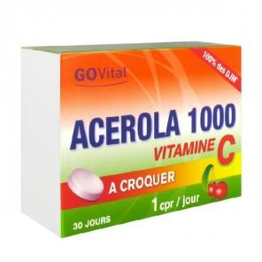 GOVital Acerola 1000 30 comprimés
