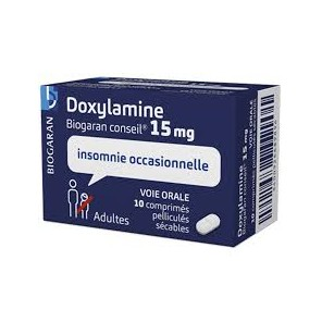 DOXYLAMINE BIOG15MG CONS CPR10