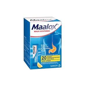 MAALOX SACHETS /20 CITRON